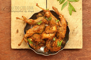 Kaadai Pirattal | Quail Masala Dry | Kaadai Masala | How to make quail masala