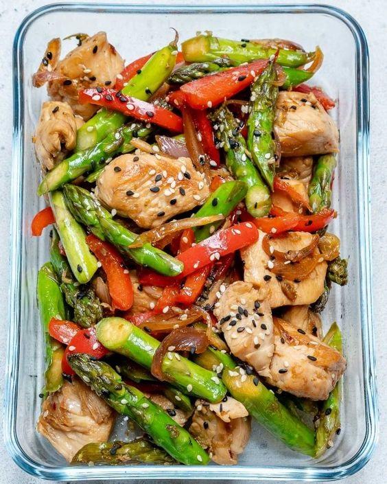 Super-Easy Turkey Stir-Fry For Clean Eating Meal Prep