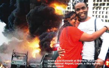 Nneka and Kenneth Ojielo Reunited After 10 Years, 24hours Later They Died In Accident