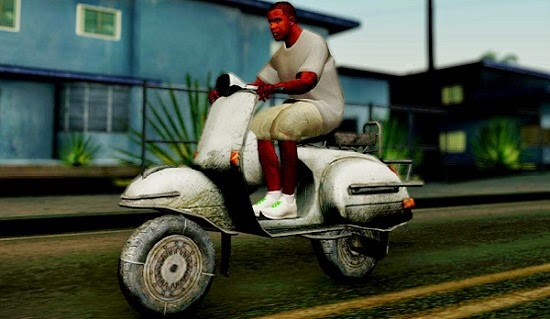 Faggio New Vespa - GTAind - Mod GTA Indonesia
