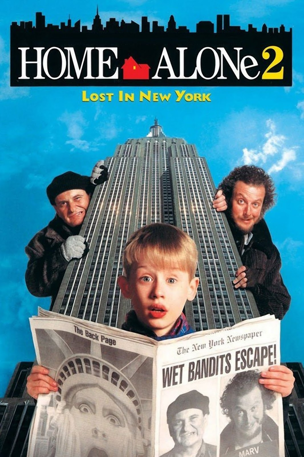 Home Alone 2: Lost In New York (1992) ταινιες online seires xrysoi greek subs