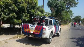 Dua Motor Tabrakan di Jalan Jakenan Winong, Satu Orang Dirawat di RS