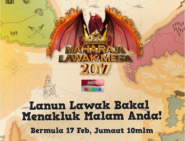 Live Streaming Maharaja Lawak Mega 2017 Astro Warna