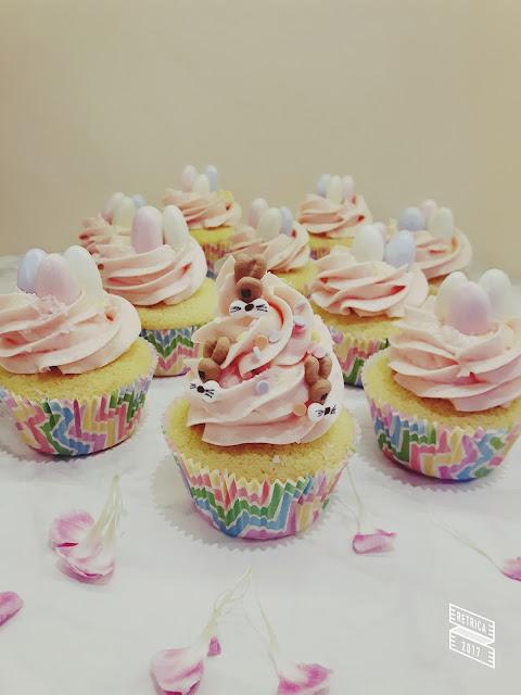 Cupcakes Velikonoce