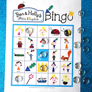 Ben & Holly's Little Kingdom Bingo