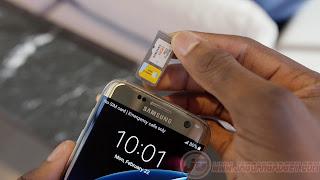 Hibryd SIM Card Samsung Galaxy S7