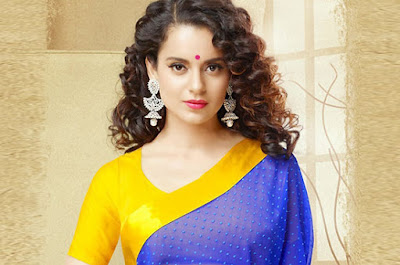 Kangana Ranaut wearing saree