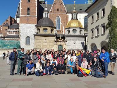 Del 23 de septiembre al 08 de octubre del 2018, Peregrinación a Europa del Este y Tierra Santa.