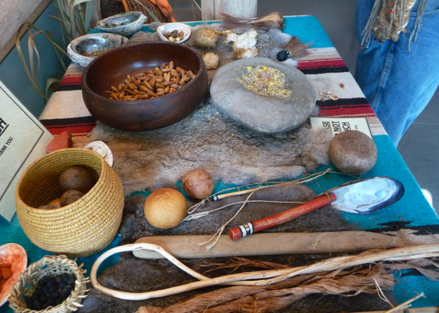 Chumash Indians Food