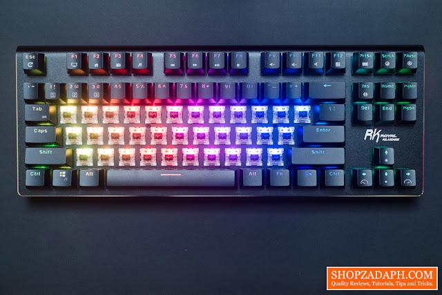 royal kludge g87 wireless keyboard