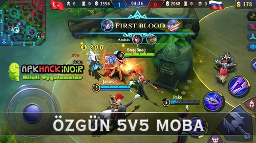 mobile legends bang bang hile 2017