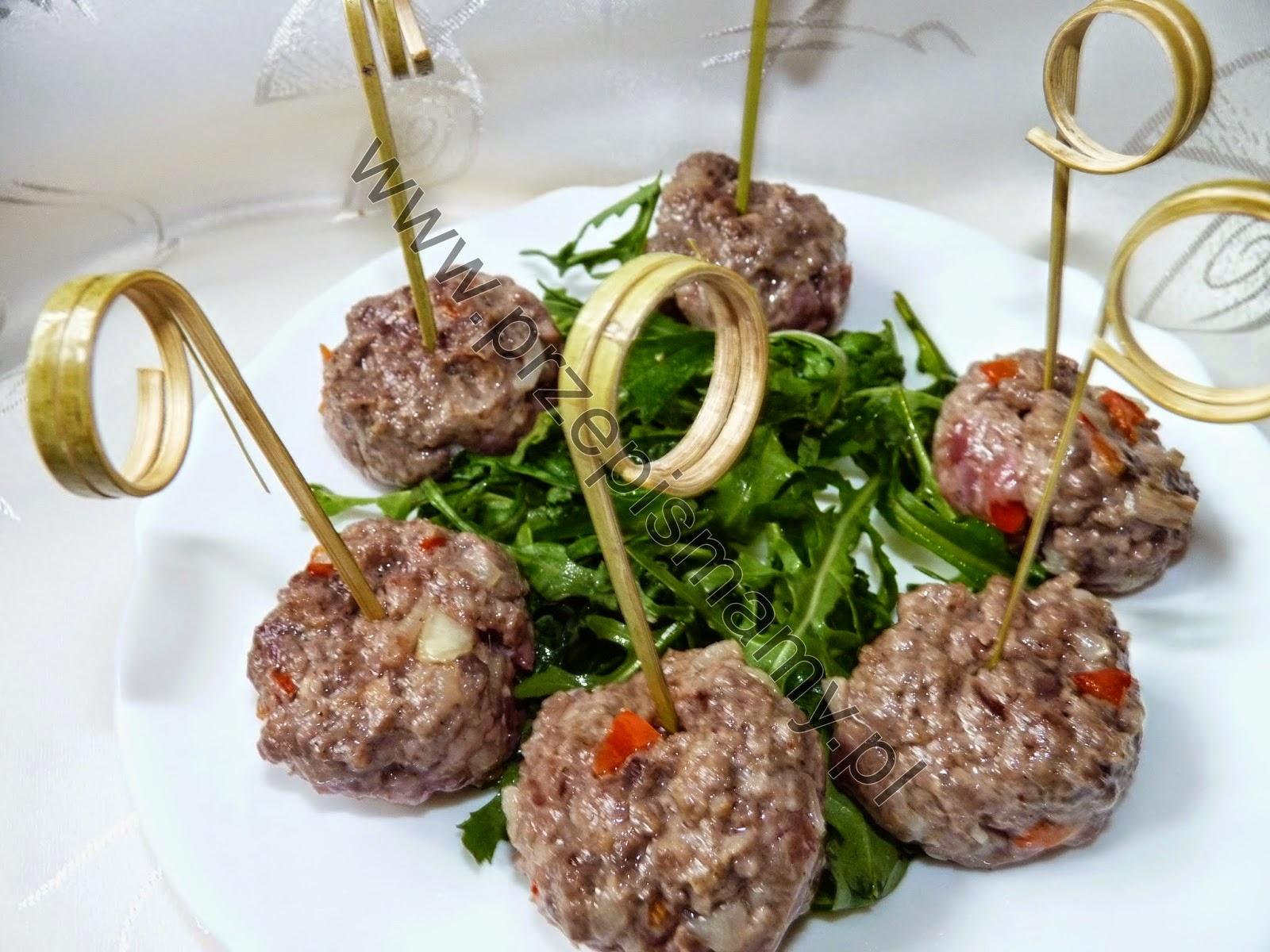 Kuleczki z mięsa wołowego