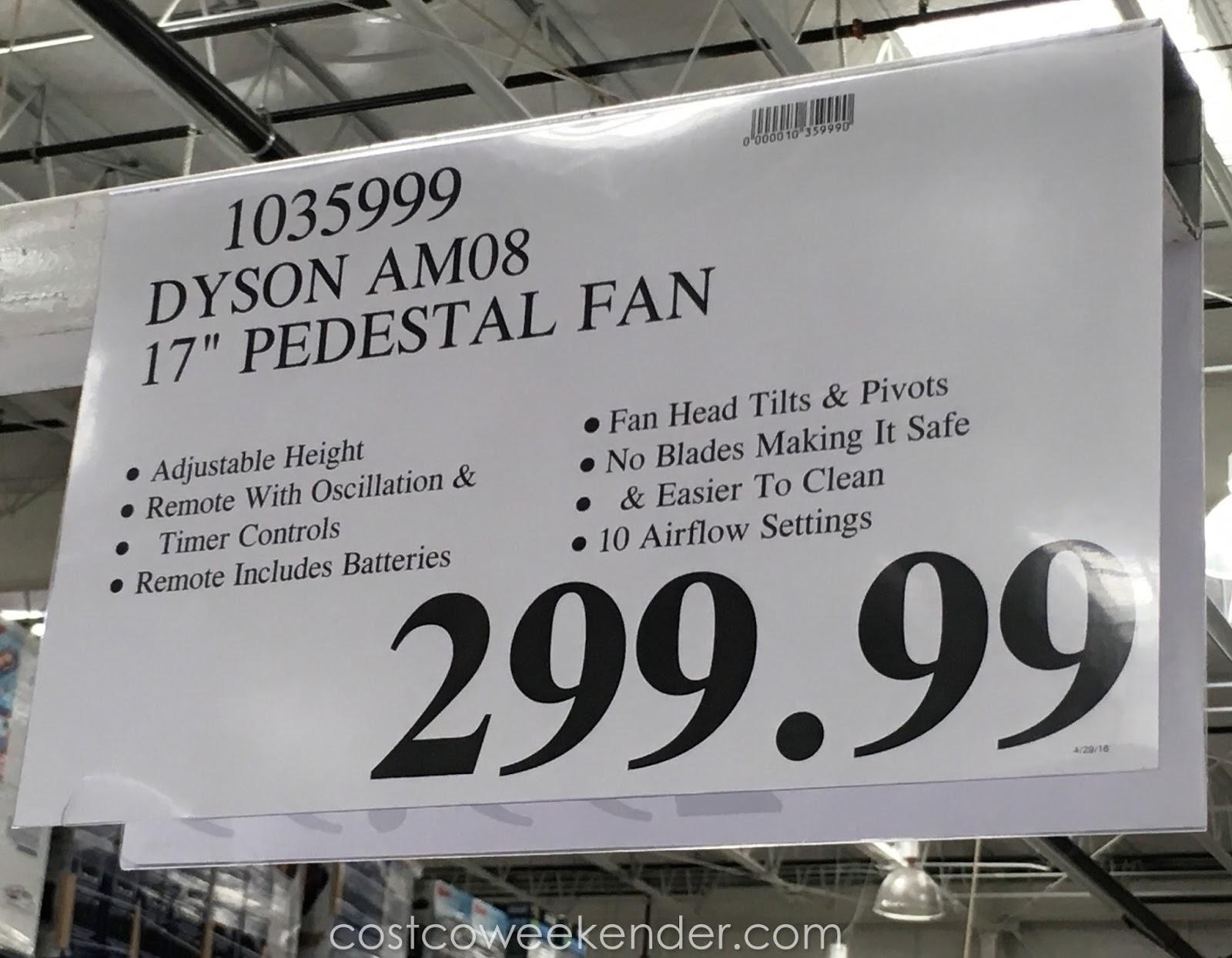 fans fan heating silver heightadjust white small pedestal appliances dyson whitesilver