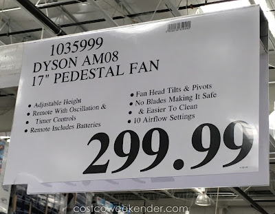 Deal for the Dyson AM08 17-inch Pedestal Fan at Costco