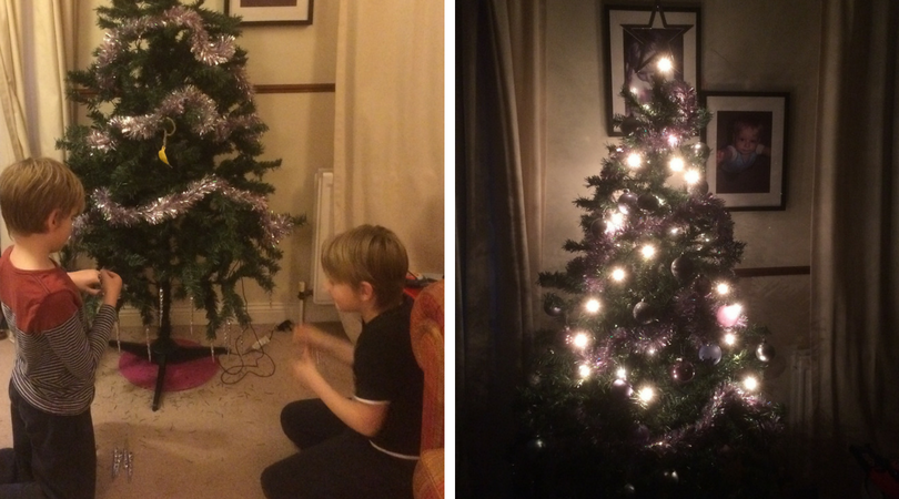 My Boys Club: When to Put up the Christmas Decorations?