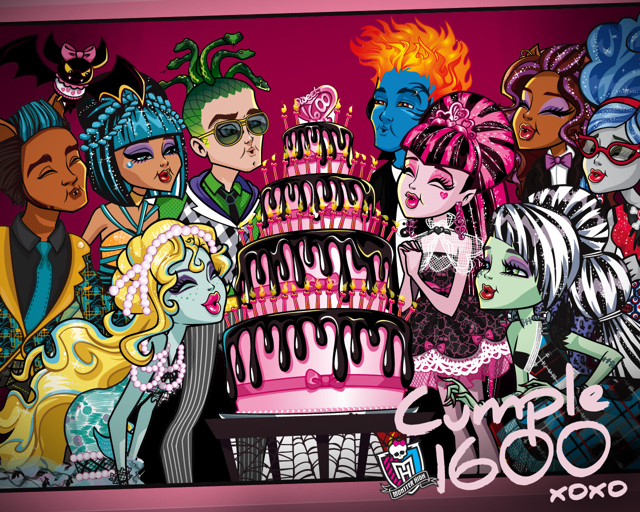 monster high: Wallpaper monster high - photo#18