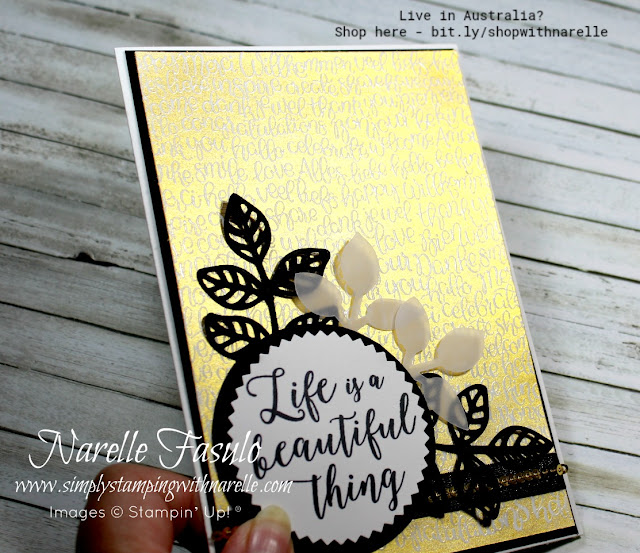 Get all the supplies you need to create wonderful Emboss Resist cards and more here - http://bit.ly/shopwithnarelle