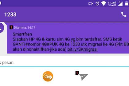 Upgrade Kartu CDMA ke 4G LTE Smartfren Tanpa Perlu Ke Gallery