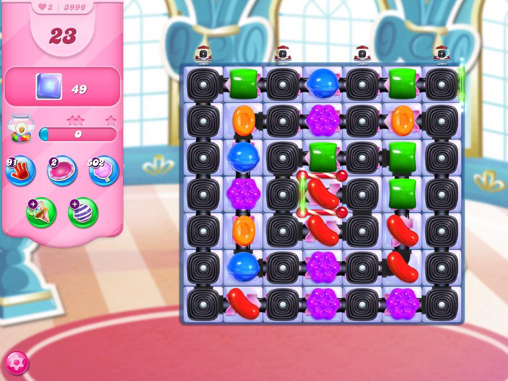 Candy Crush Saga level 3996