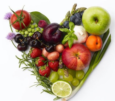 This is the Variety of Healthy Foods for the Heart