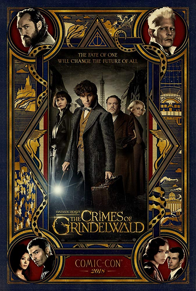 FANTASTIC BEASTS: THE CRIMES OF GRINDELWALD comic-con poster