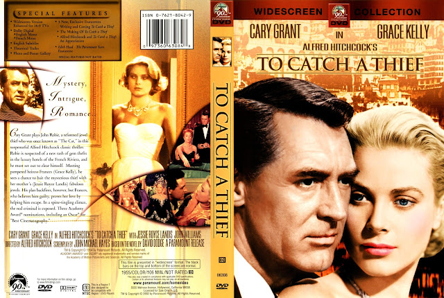 To Catch A Thief DVD Cover