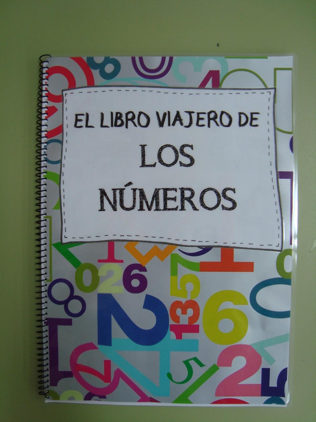 Plastificando ilusiones el libro viajero de los n meros - Ideas libro viajero infantil ...