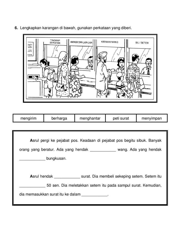 Bicara Kehidupan Latihan Penulisan Bahasa Melayu Tahun 3