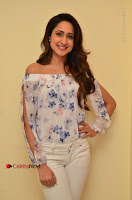 Actress Pragya Jaiswal Latest Pos in White Denim Jeans at Nakshatram Movie Teaser Launch  0046.JPG