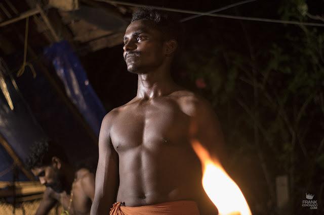 hombre de kerala india