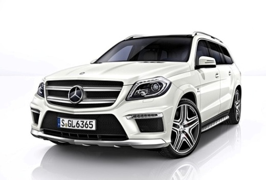 The Mercedes-Benz GL is biggest luxury SUV