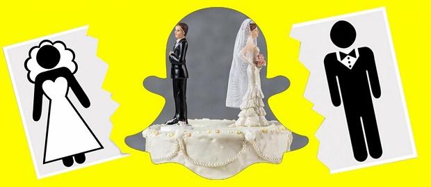 Pasangan Pengantin Baru 2 Jam Menikah, Pasangan ini Cerai Gara-Gara Snapchat