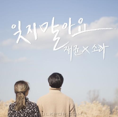 Ahn Jae Kyun, Soha – 잊지 말아요 – Single