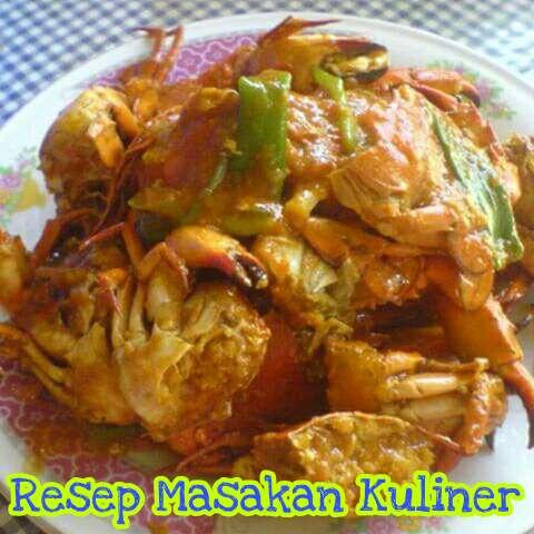 Kepiting saus Padang, resep kepiting saus padang,