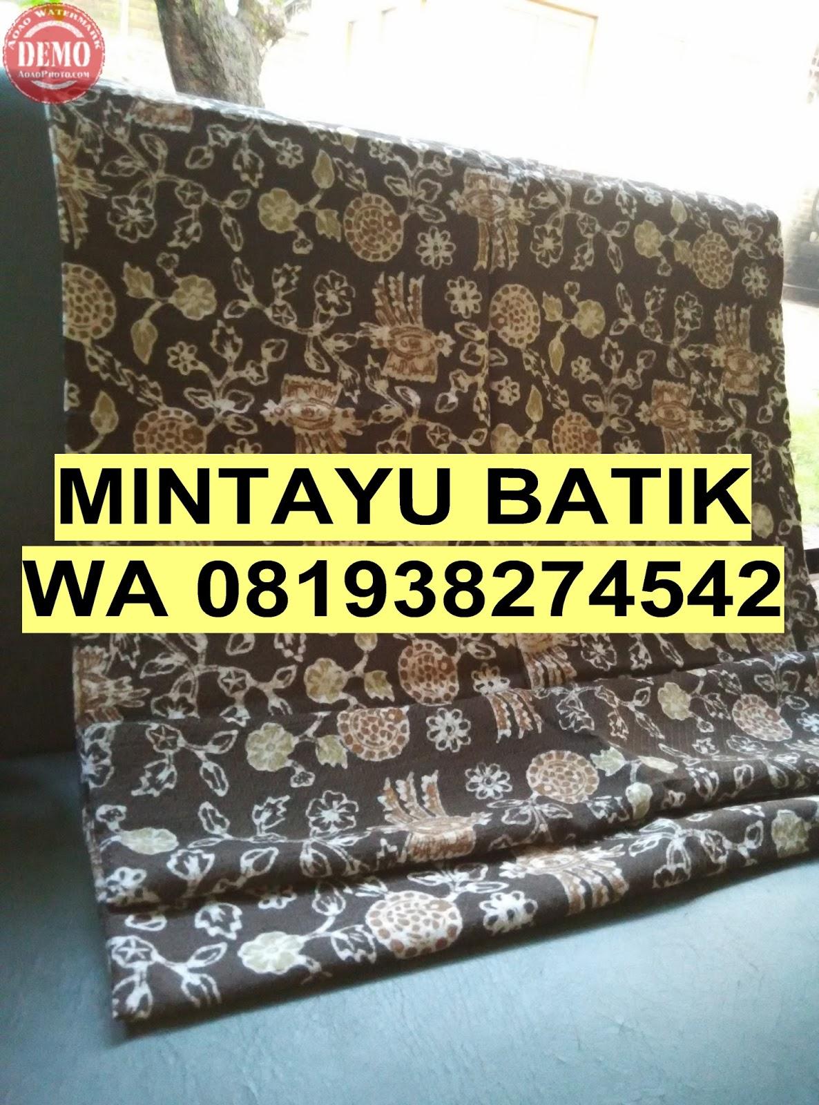 Jual Batik Warna Alam Jual kain batik warna alam di Tapak Tuan