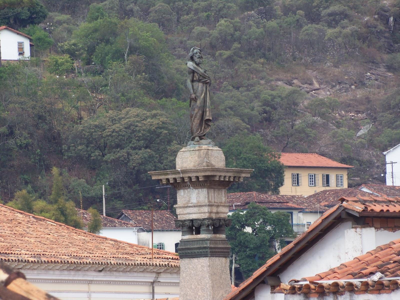 praça tiradentes Ouro Preto