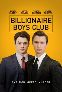 Billionaire Boys Club 2018 - Legendado