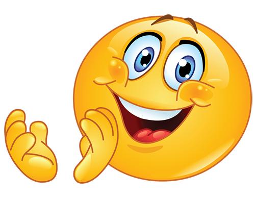Smiley Clapping Hands | Symbols & Emoticons