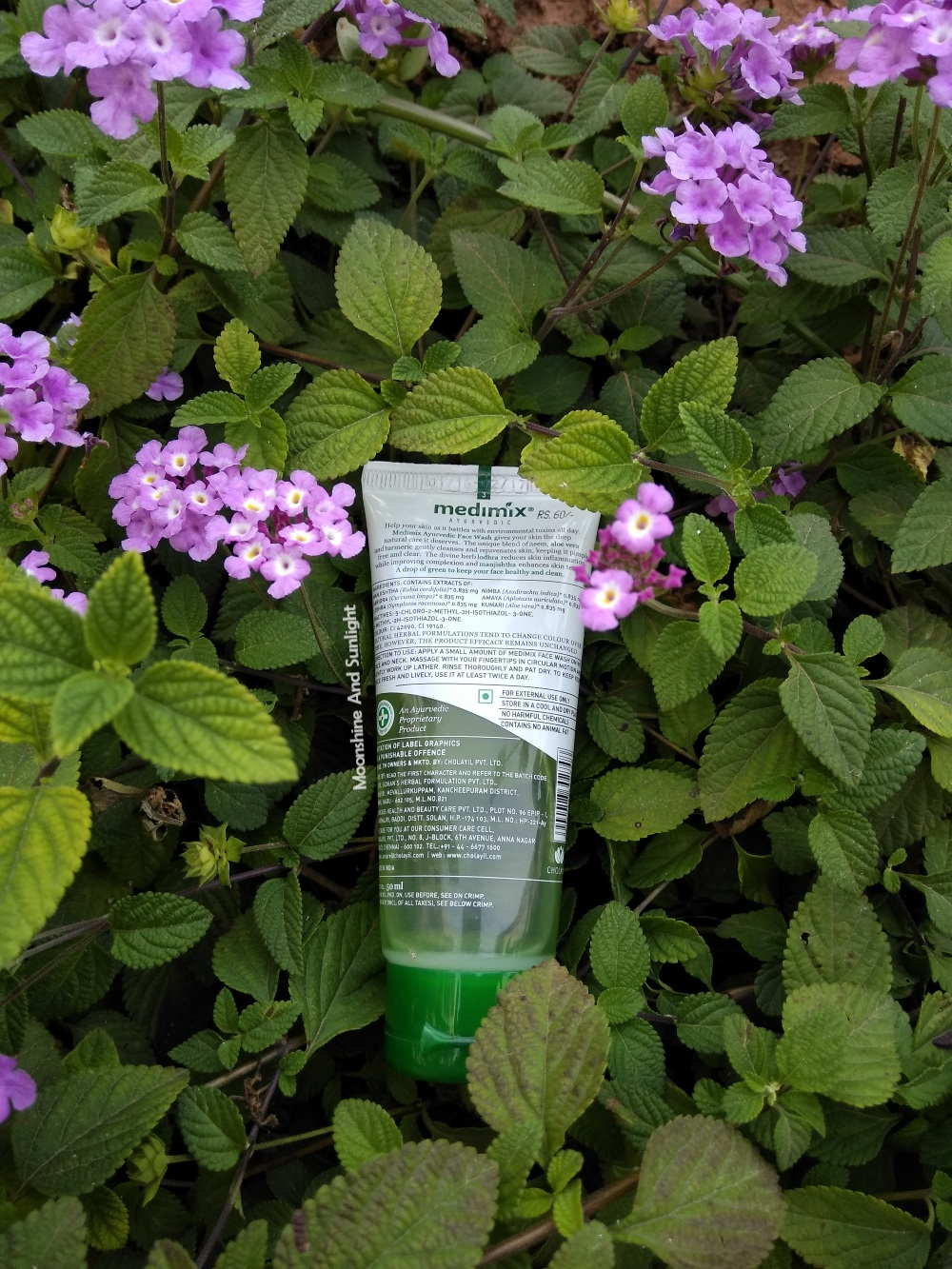 Medimix Face Wash Review   Essential Herbs