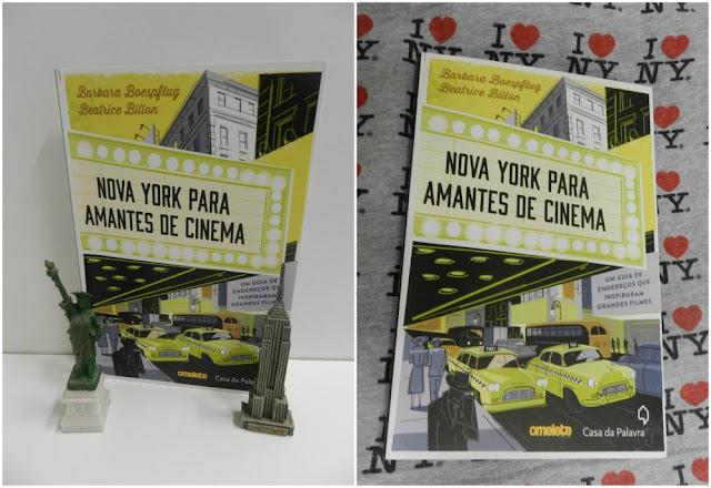 """Conhecendo Londres e Paris de metrô e a Nova York de cinema! Livro """"Nova York para amantes de cinema"""""""