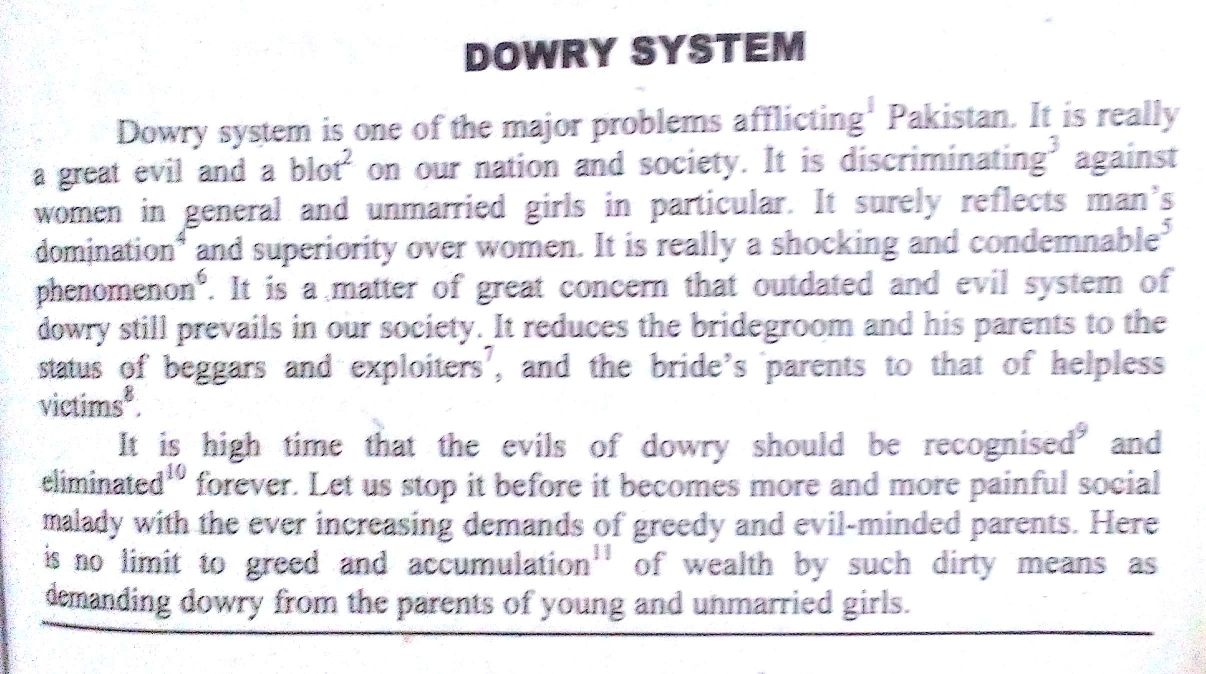 Dowry Essay  Underfontanacountryinncom Essay On Dowry Dowry System   Jpg Essay On Change In Education  Sample Essays High School also Expository Essay Thesis Statement The Kite Runner Essay Thesis