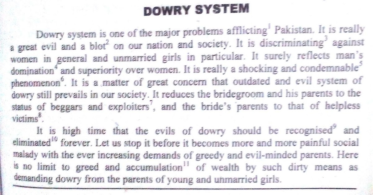 dowry essay short essay on dowry system in english speech topics - english short essays