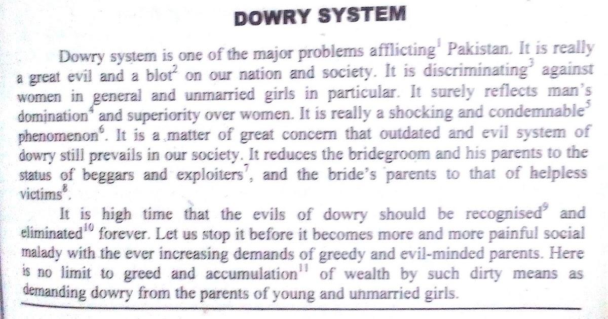 dowry essay essays articles education social evil dowry creek the - english short essays