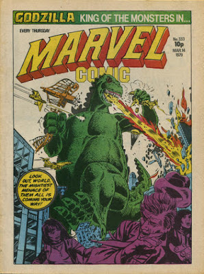 Marvel Comic #333, Godzilla