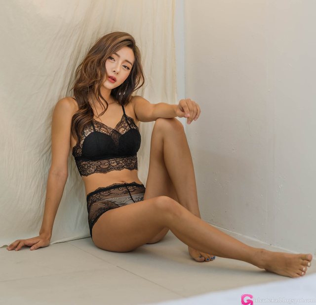 Kim Bo Ram  Lingerie Set - very cute asian girl - girlcute4u.blogspot.com (1)