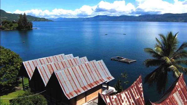 Pulau Samosir di Sumatera Utara