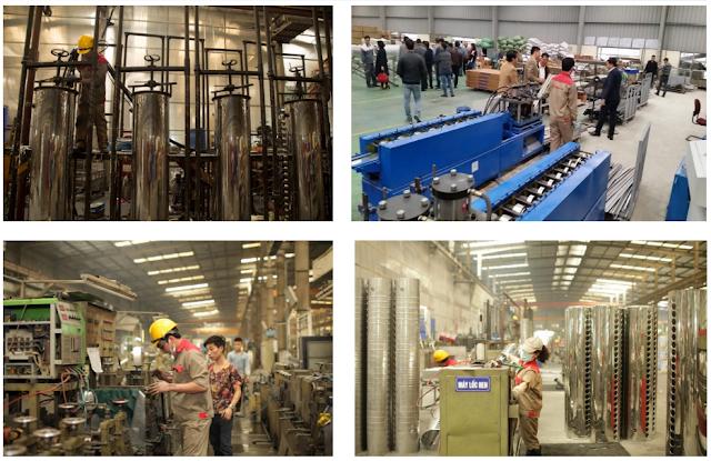 Nhà máy công ty năng lượng Sơn Hà SHE