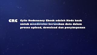 Pengertian Kode CRC32 di Anime, Apa Itu Kode CRC, Apa Fungsi Kode CRC