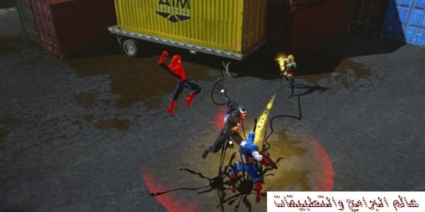 تحميل لعبة فرقة الأبطال الخارقون MARVEL HEROES للكمبيوتر برابط مباشر