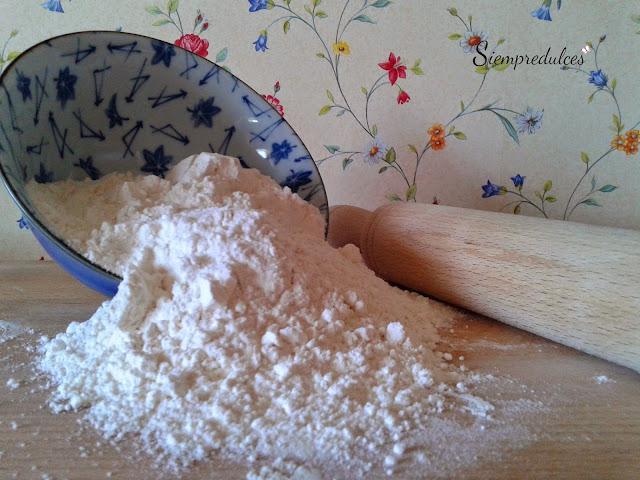La harina - Materias primas de repostería (Siempredulces)